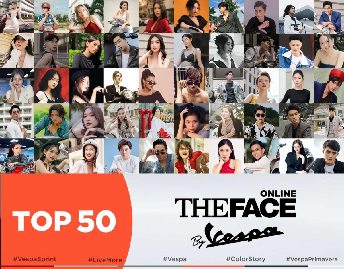 Top 50 thí sinh đã lộ diện.
