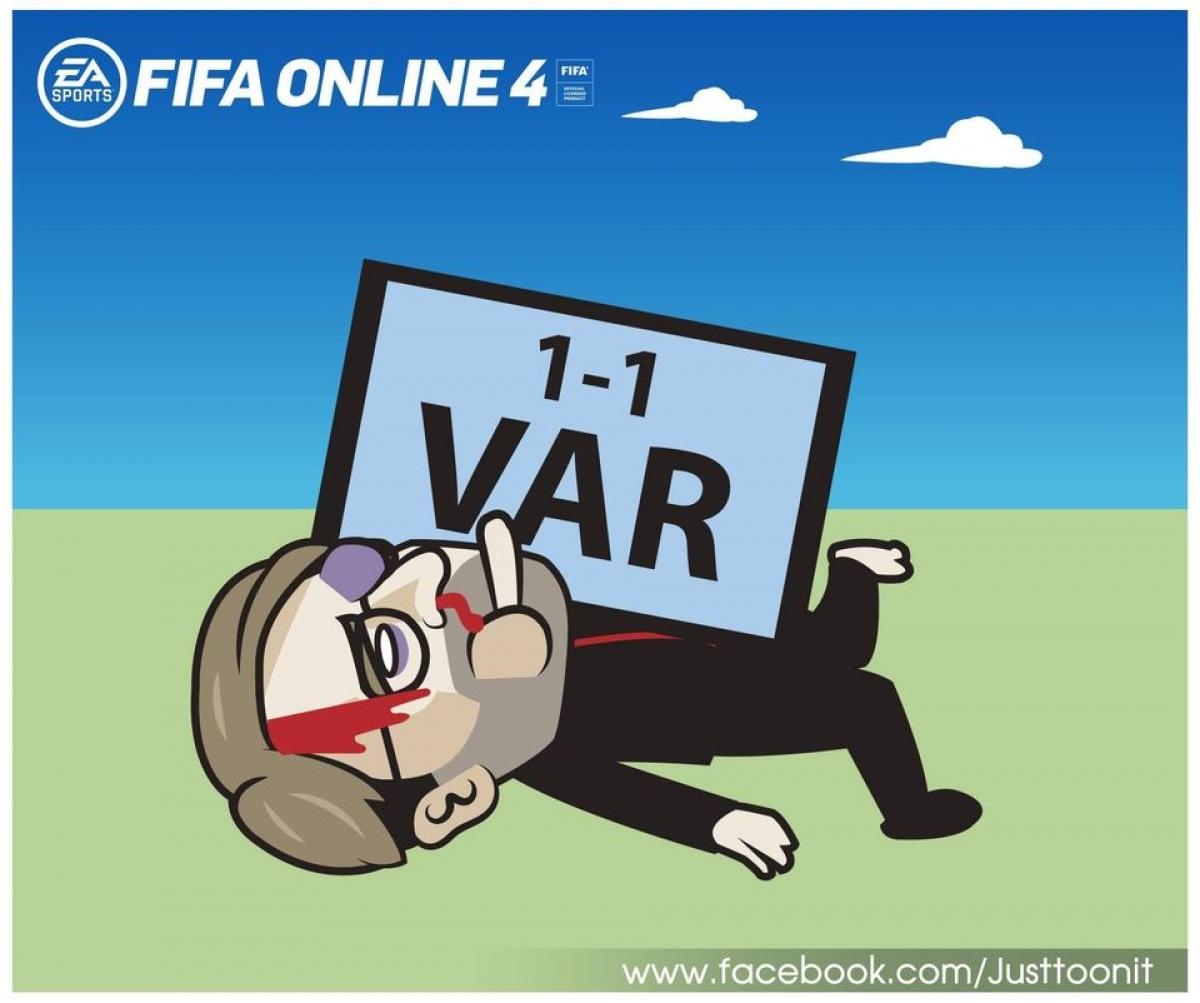 Chiến lược gia người Đức thâm tím mặt mày vì VAR, khi Liverpool bịBrighton & Hove Albion gỡ hòa 1-1 ở phút bù giờ.