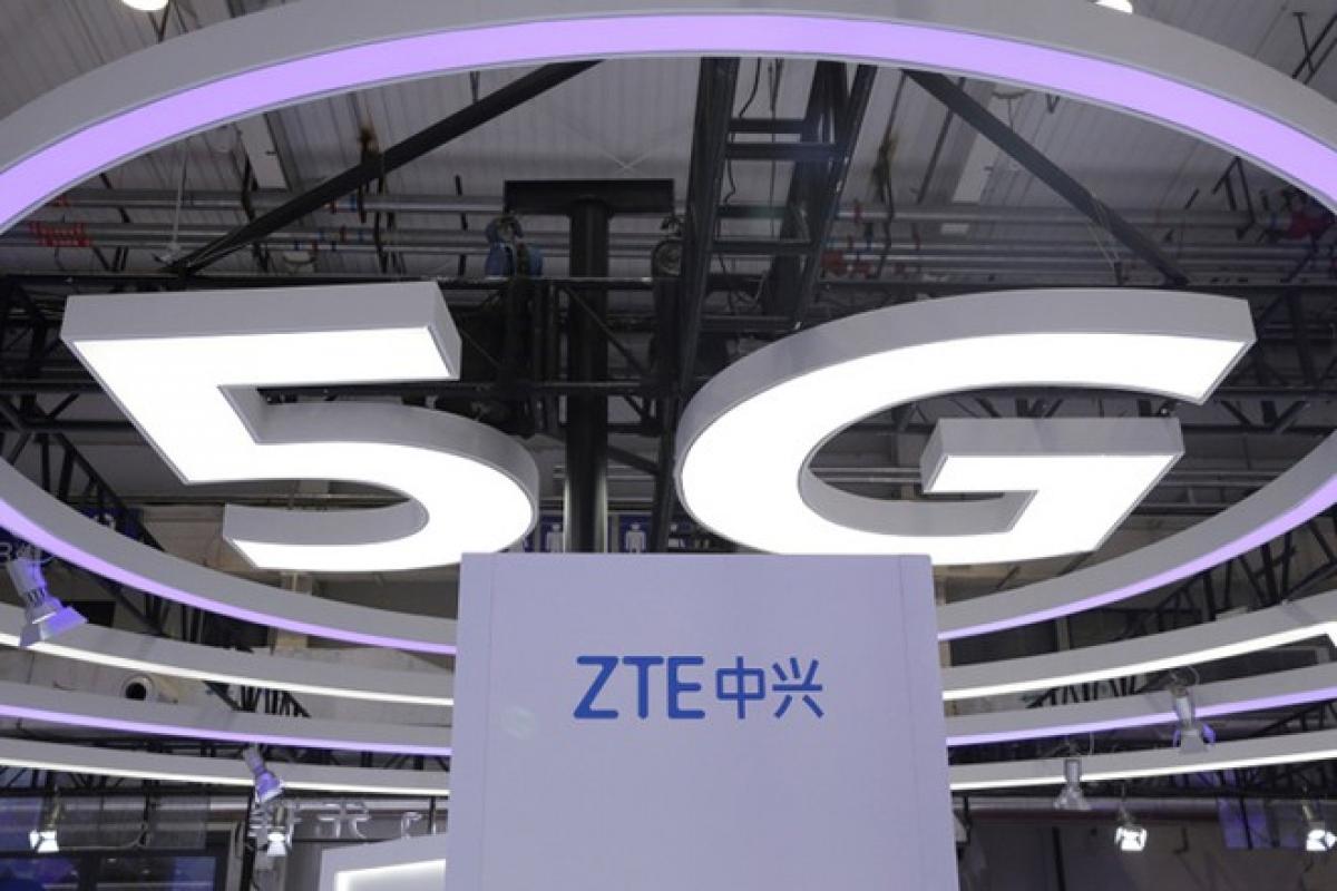 Sau Huawei, rất có thể thiết bị 5G của ZTE sắp bị cấm tại Mỹ. (Ảnh: Reuters)