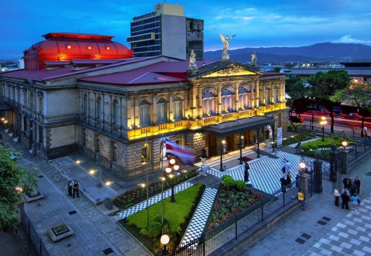 Nhà hát quốc gia tại San José, Costa Rica.