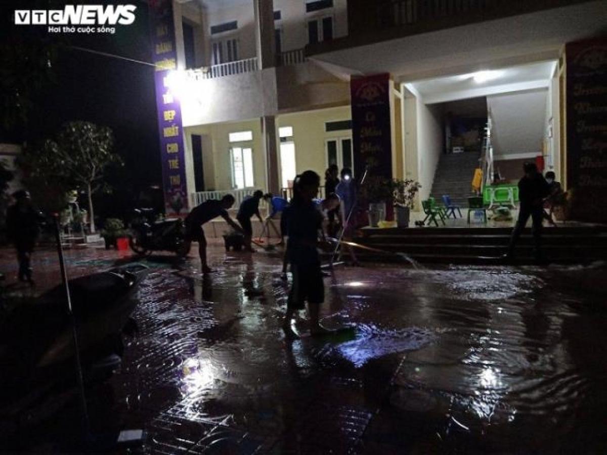 Trận lũ vừa qua, địa phương không có thiệt hại về người, có 192 hộ dân bị ngập, trong đó 10 hộ bị ngập sâu. Địa phương đã chủ động phương án đề phòng trước khi mưa lũ xảy ra nên giảm thiểu được thiệt hại.