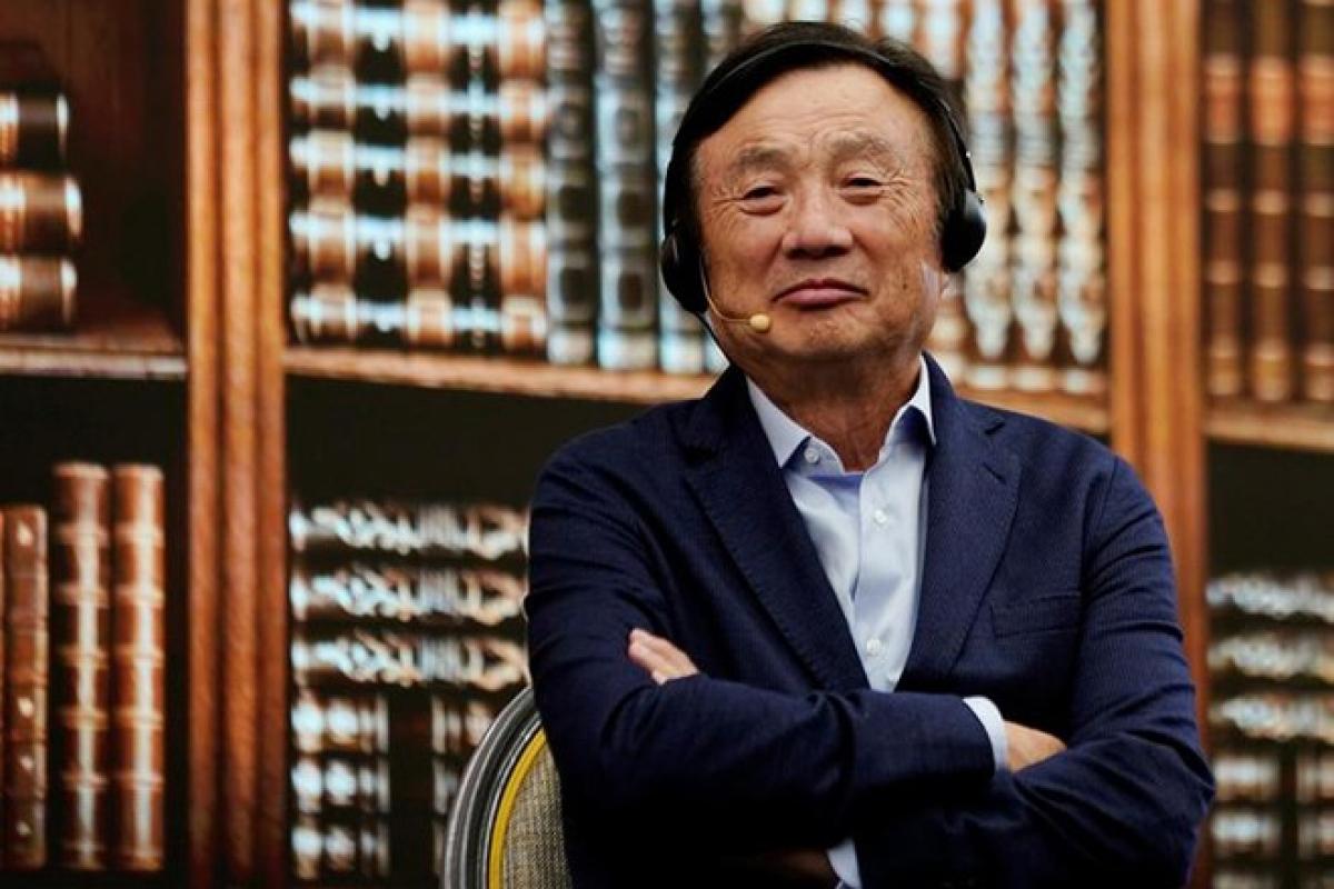 Ông Ren Zhengfei cho rằng sẽ không có mối quan hệ ngầm giữa Huawei và Honor -ẢNH: REUTERS