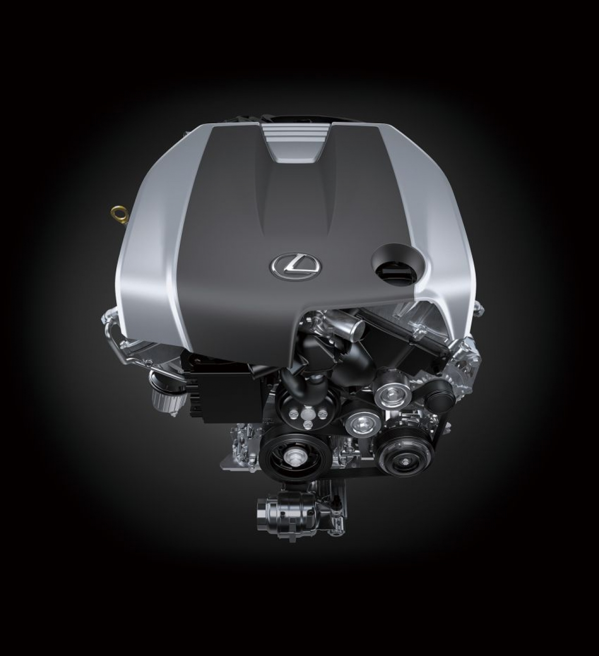 Động cơ xe vẫn được giữ nguyên khi mà xe sẽ được trang bị động cơ 4 xi lanh tăng áp 2.0 L 8AR-FTS sản sinh công suất 240 mã lực từ vòng quay 5.200 vòng/phút đến 5.800 vòng/phút và mô men xoắn 350 Nm từ 1.650 vòng/phút đến 4.400 vòng/phút. Ngoài ra, khách hàng cũng có thể lựa chọn động cơ mạnh hơn - V6 2GR-FSE 3.5 L hút khí tự nhiên trên bản IS 350 sản sinh công suất 311 mã lực tại vòng quay 6.600 vòng/phút và mô men xoắn 380 Nm tại vòng quay 4.800 vòng/phút. Tại thị trường Nhật Bản, cả 2 sẽ đều đi kèm với hộp số tự động 8 cấp và dẫn động cầu sau.