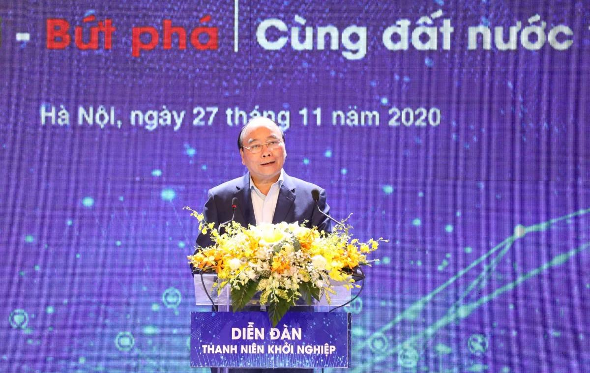 Thủ tướng Chính phủ Nguyễn Xuân Phúc phát biểu tại Techfest 2020