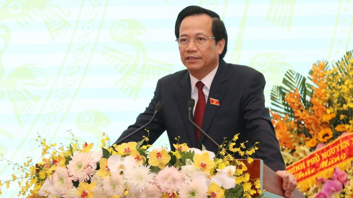 Bộ trưởng Bộ Lao động - Thương binh và Xã hội Đào Ngọc Dung