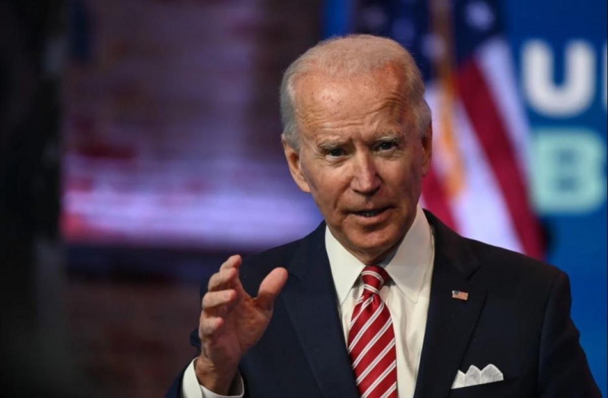 Tổng thống đắc cử Joe Biden. Ảnh: Reuters