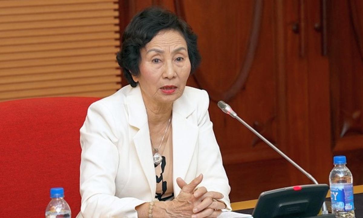 PGS.TS Bùi Thị An – Viện trưởng Viện Tài nguyên môi trường và phát triển cộng đồng.