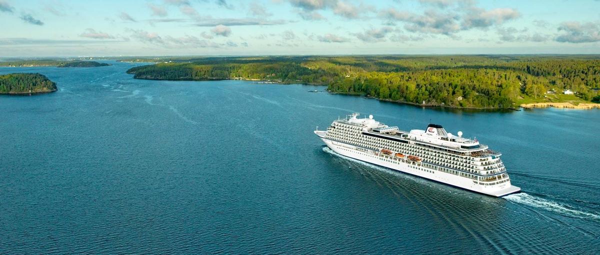 Tàu Viking Star là du thuyền đầu tiên có phòng xét nghiệm Covid-19. Nguồn: Viking Cruises