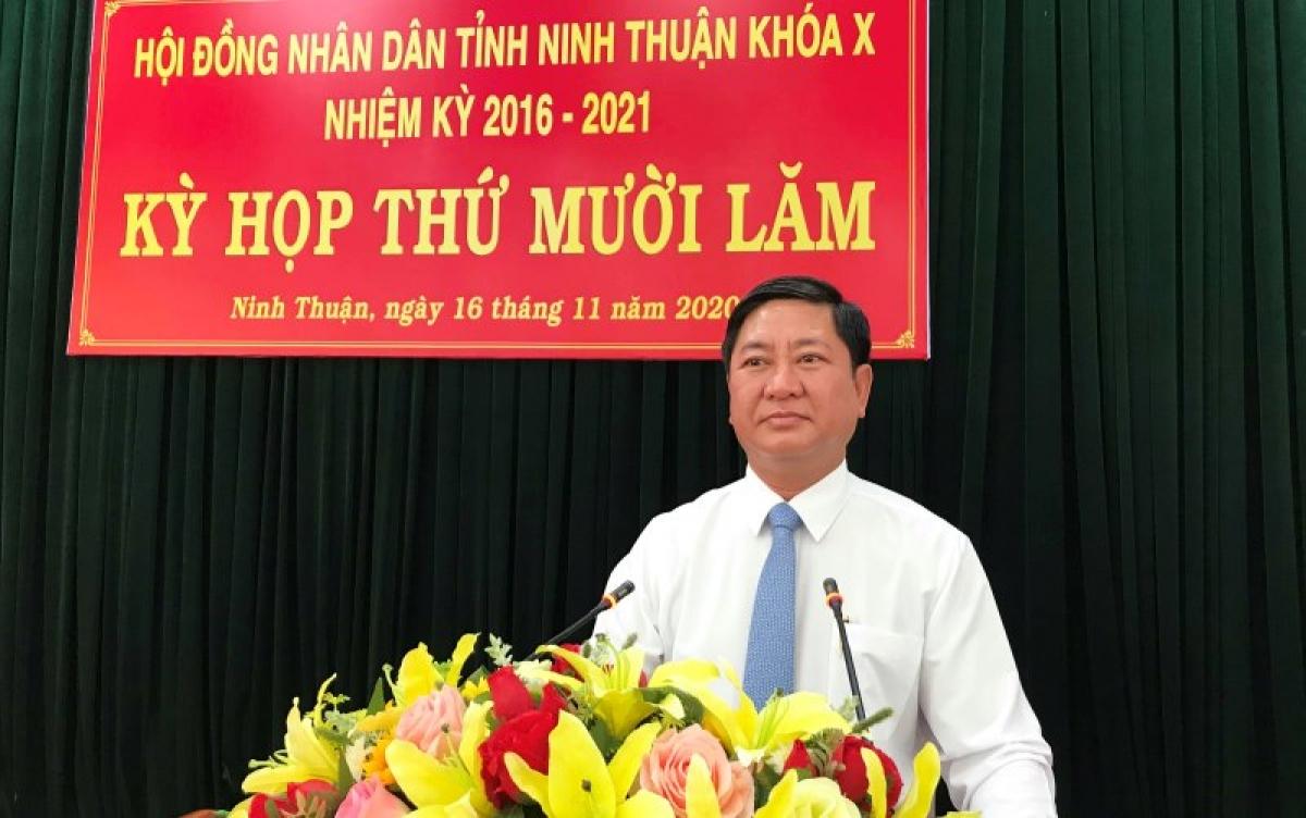 Ông Trần Quốc Nam - Chủ tịch UBND tỉnh Ninh Thuận (nhiệm kỳ 2016-2021).