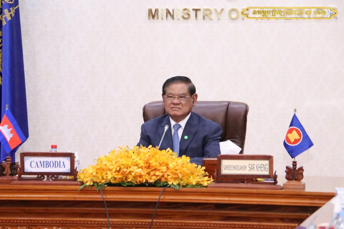 Phó Thủ tướng kiêm Bộ trưởng Bộ Nội vụ Campuchia Sar Kheng ( ảnh FB nhân vật).