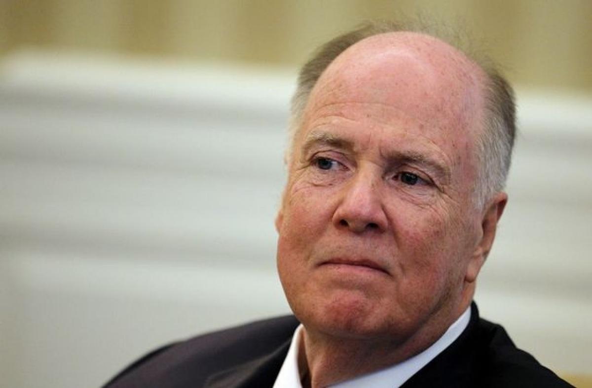 Tom Donilon là một nhà ngoại giao kỳ cựu và từng đảm nhiệm vị trí Cố vấn an ninh quốc gia dưới thời chính quyền Tổng thống Barack Obama. Ảnh: Reuters