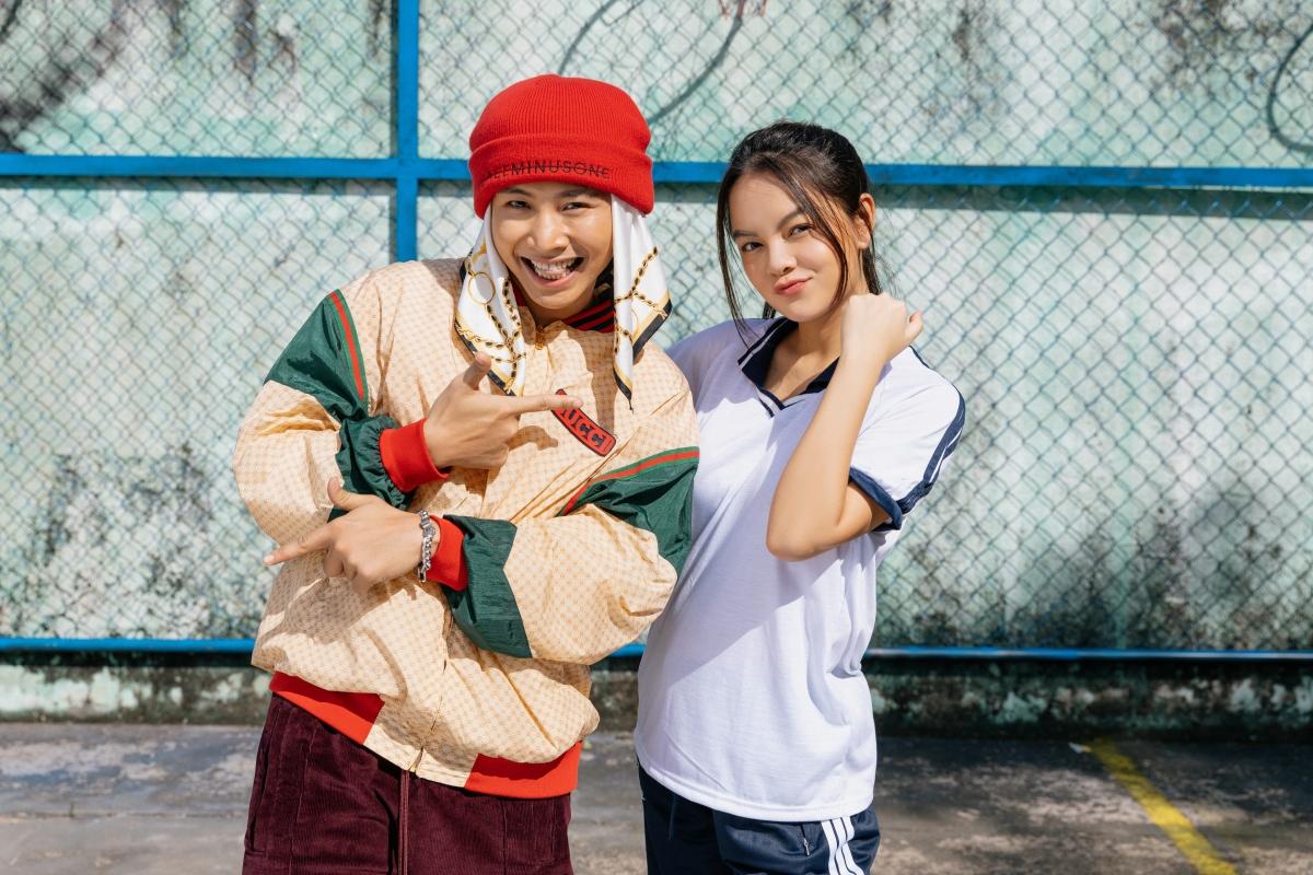 Phạm Quỳnh Anh và Ricky Star.