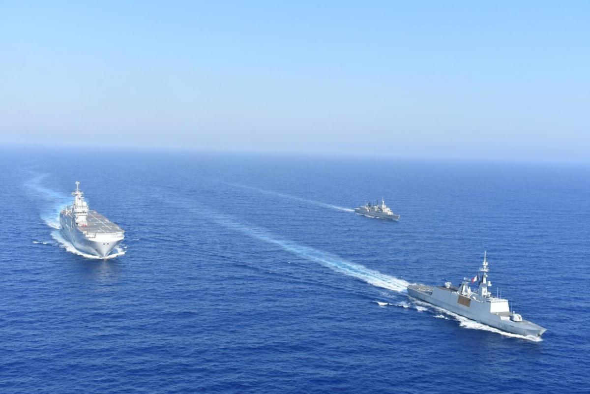 Căng thẳng Hy Lạp - Thổ Nhĩ Kỳ gia tăng ở Đông Địa Trung Hải. Ảnh: Reuters