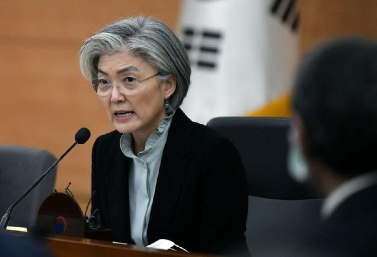 Ngoại trưởng Hàn Quốc Kang Kyung-hwa. Ảnh: Reuters