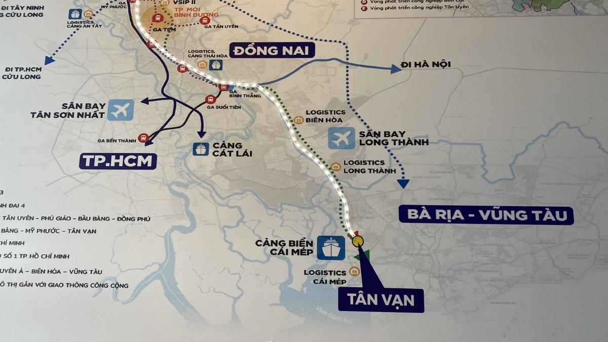 Kết nối hạ tầng vùng Đông Nam bộ để thục đẩy phát triển vùng kinh tế trọng điểm.
