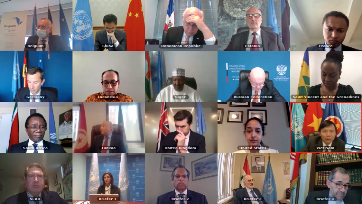 HDBA họp về tình hình Syria.