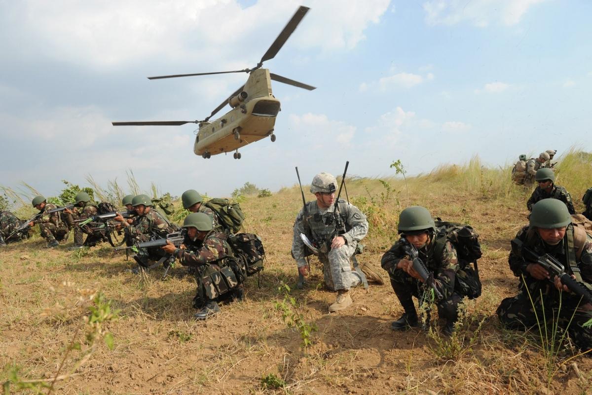 Philippines gia hạn Thỏa thuận các Lực lượng thăm viếng với Mỹ. Ảnh: New York Times