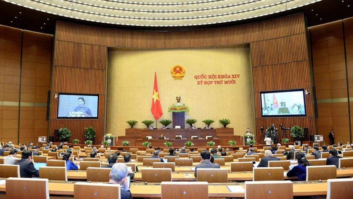 Kỳ họp thứ 10, Quốc hội khóa XIV diễn ra trong 19 ngày làm việc, chia làm 2 đợt trực tuyến và tập trung
