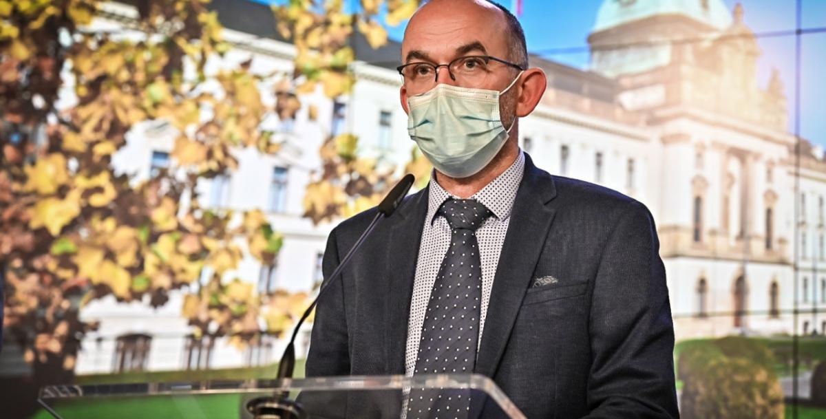 Bộ trưởng Bộ Y tế Séc Jan Blatný. Ảnh: expats.cz.