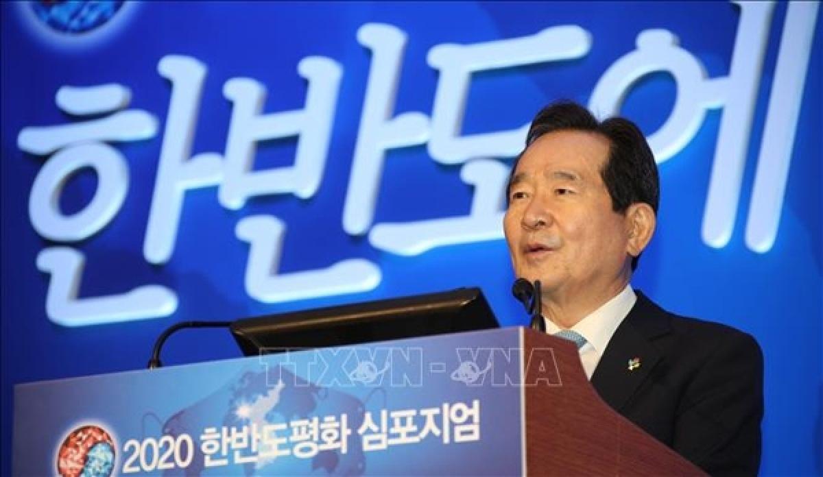 Speaker Park Byeong Seug of the Republic of Korea's National Assembly. (Photo: Yonhap/VNA)