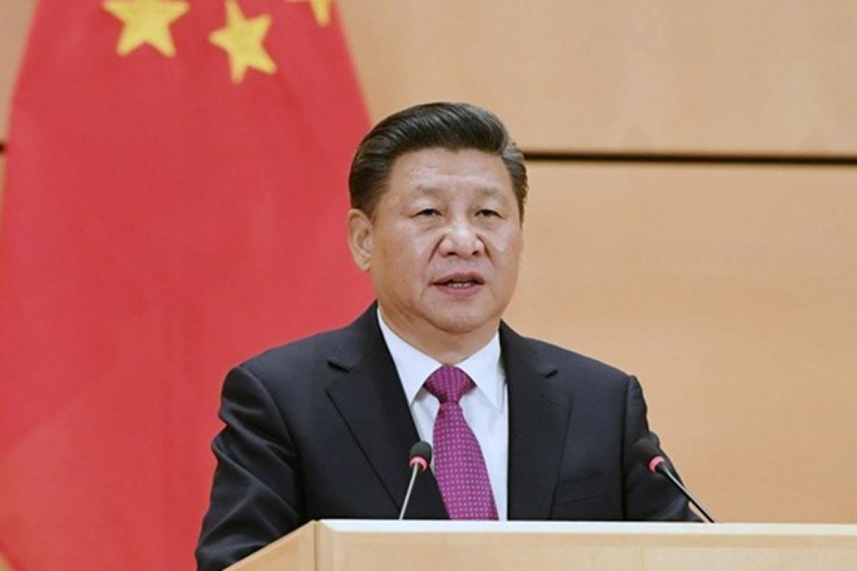 Chủ tịch Trung Quốc Tập Cận Bình. Ảnh: Tân Hoa Xã