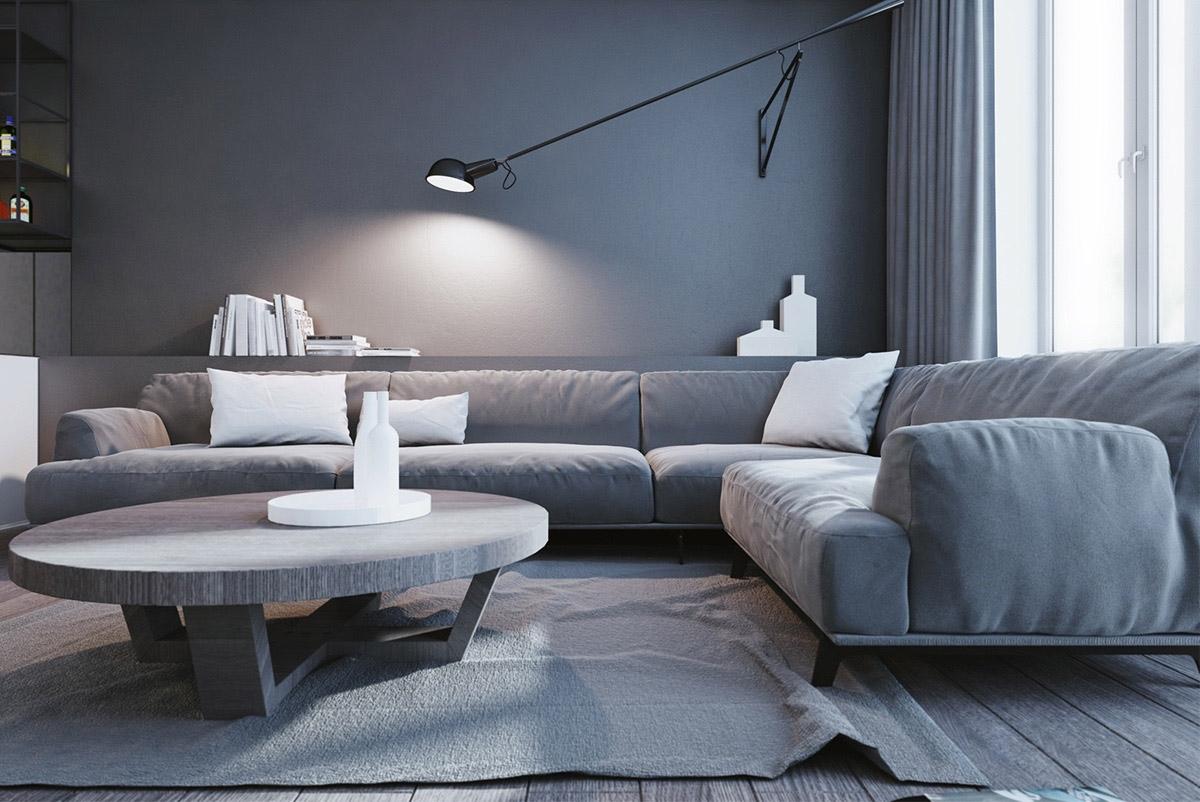 Một không gian tối giản về màu sắc và nội thất nhưng lại rất lôi cuốn và quyến rũ.