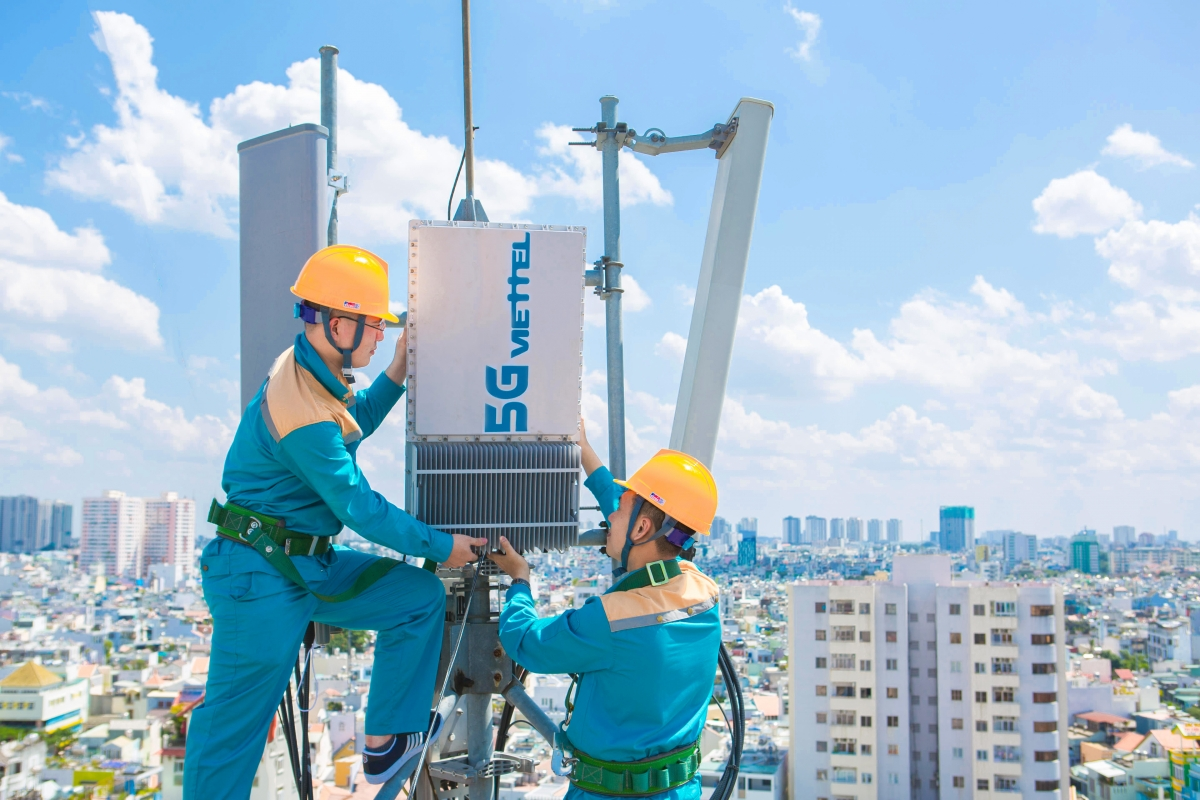 Sau 4G, Viettel đang tiên phong trong phát triển 5G.