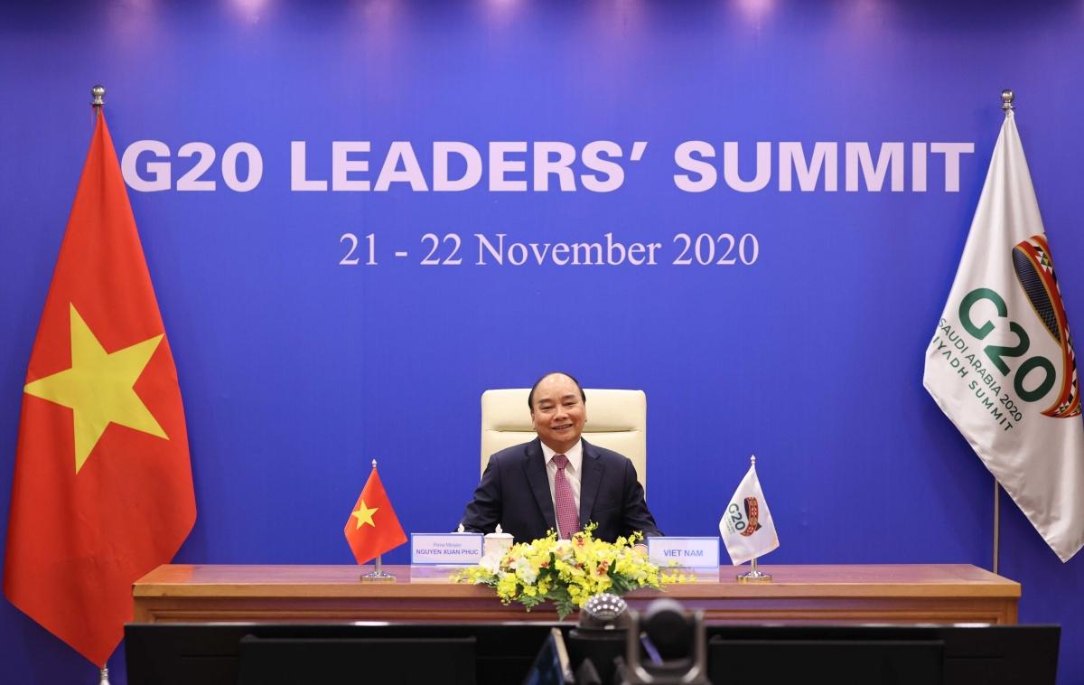 Thủ tướng Nguyễn Xuân Phúc dự và phát biểu tại Hội nghị Thượng đỉnh G20.