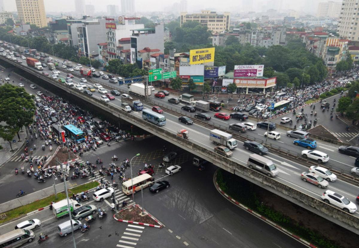 Hầm chui Lê Văn Lương sẽ được thực hiện để giảm ùn tắc tại nút giao thông Lê Văn Lương - Vành đai 3