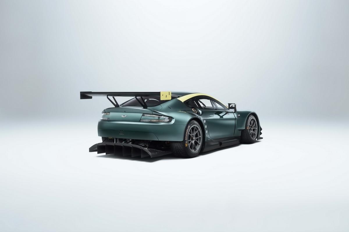 Mẫu xe cuối cùng của bộ ba này là chiếc V8 Vantage GTE. Mẫu xe này đã mang về cho Aston Martin bảy danh hiệu và hai chiến thắng phân khúc tại Le Mans 24h. Khác với hai chiếc xe trên, chiếc Vantage GTE trong bộ sưu tập sẽ là một trong bảy chiếc xe từng được gửi đi tranh tài trên khắp thế giới.