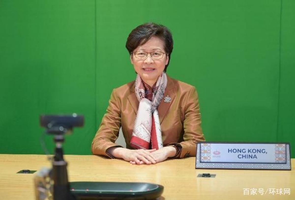 Bà Lâm Trịnh Nguyệt Nga (Ảnh: Mạng Tin tức chính quyền Hong Kong)