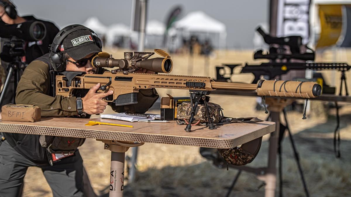 Súng trường bắn tỉa Barrett MRAD Mark 22. Ảnh: Tatical Life.