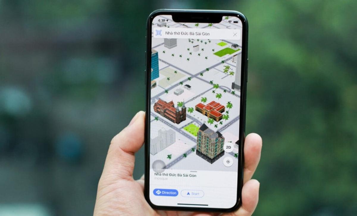 Map4D là bản đồ duy nhất tại Việt Nam có khả năng hiển thị, tương tác với các đối tượng 3D