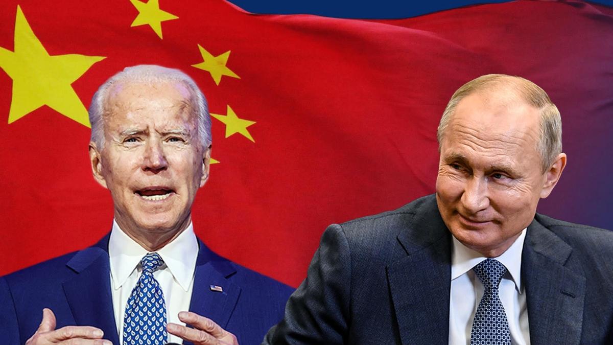 Giới phân tích cho rằng mối quan hệ căng thẳng với Mỹ sẽ đẩy Nga về phía Trung Quốc. Ảnh: Nikkei Asian Review