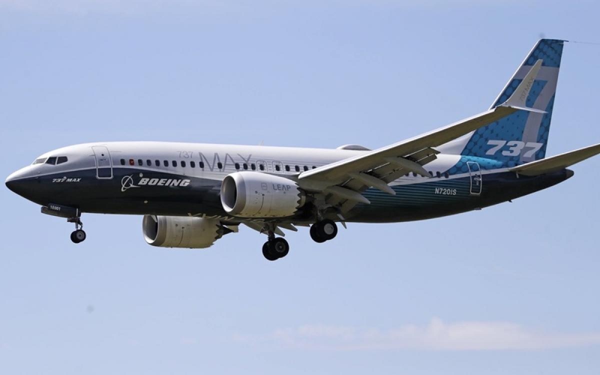Máy bay Boeing 737 Max. Ảnh: Star Tribune.