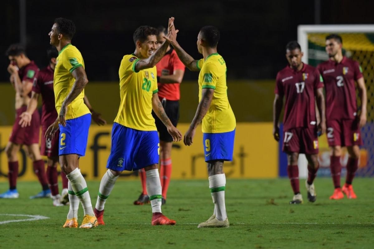 Brazil giành chiến thắng nhọc nhằn trước Venezuela (Ảnh: Getty).