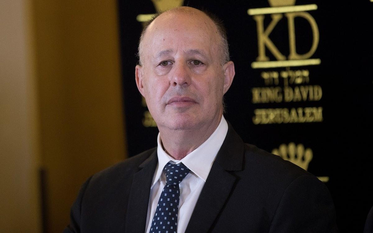 Bộ trưởng Hợp tác vùng của Israel, ông Tzachi Hanegbi. Ảnh: Times of Israel