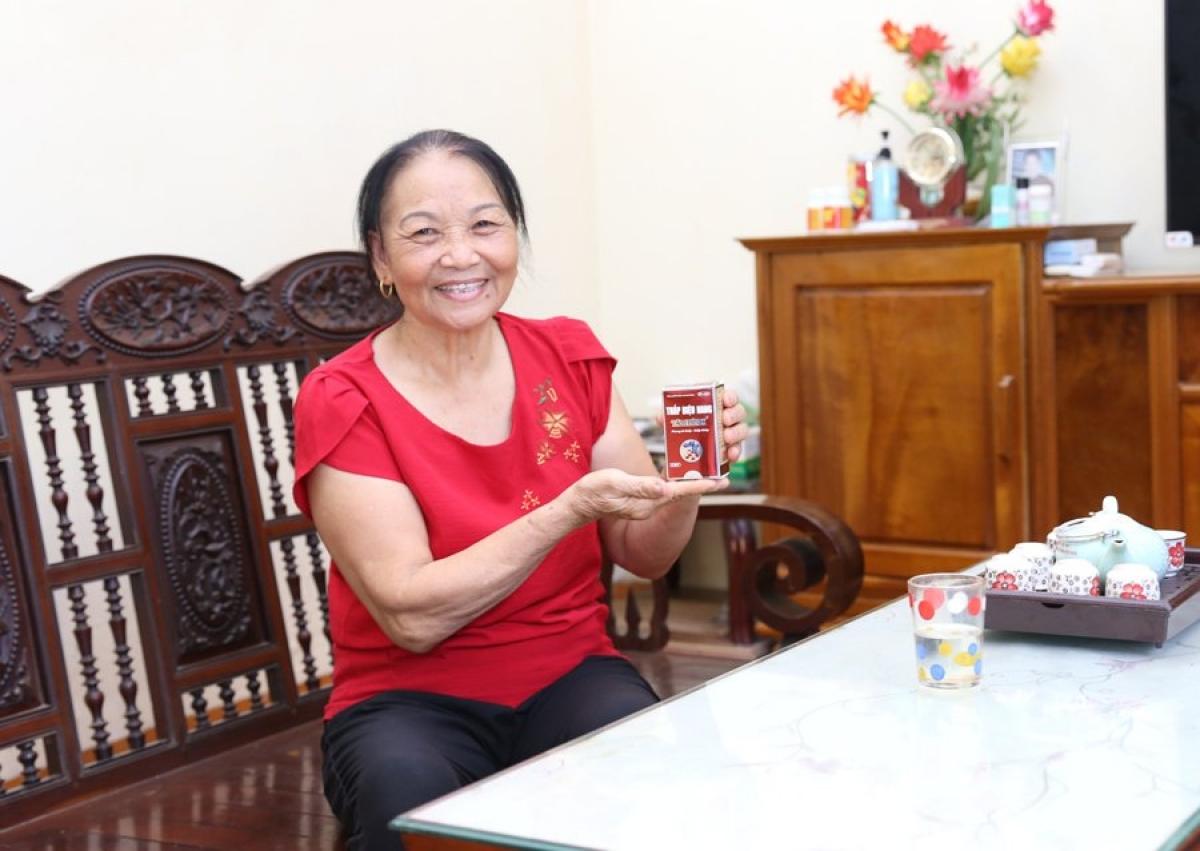 Bà Hoàng Thị Lan (68 tuổi), khu Hành chính 1, Phường Liên Bảo, TP. Vĩnh Yên, tỉnh Vĩnh Phúc.