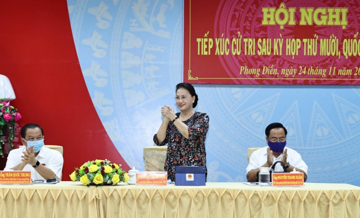 Chủ tịch Quốc hội đánh giá cao những ý kiến đóng góp của người dân