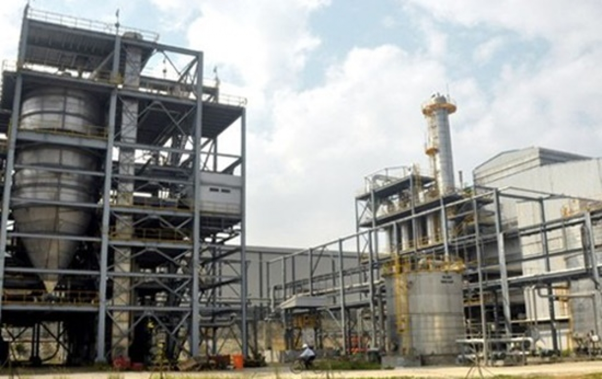 """Dự án Ethanol Phú Thọ hoang hóa sau những ngày tháng """"đắp chiếu""""."""
