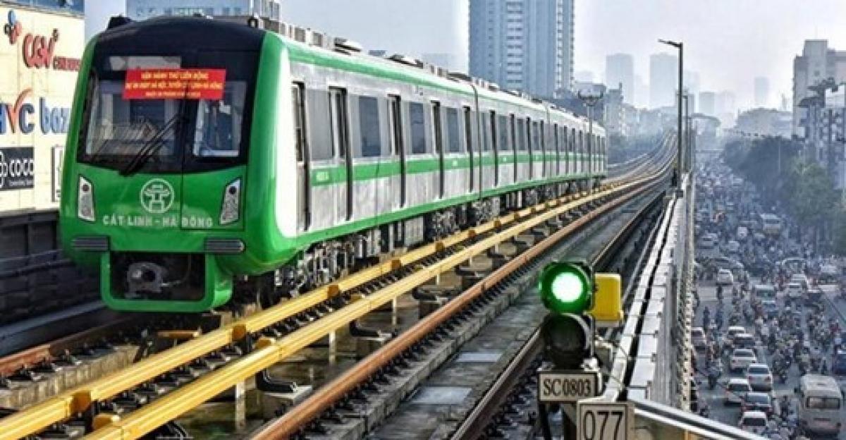 Dự án đường sắt Cát Linh - Hà Đông đã hoàn thành công tác xây dựng, chỉ vướng nghiệm thu.