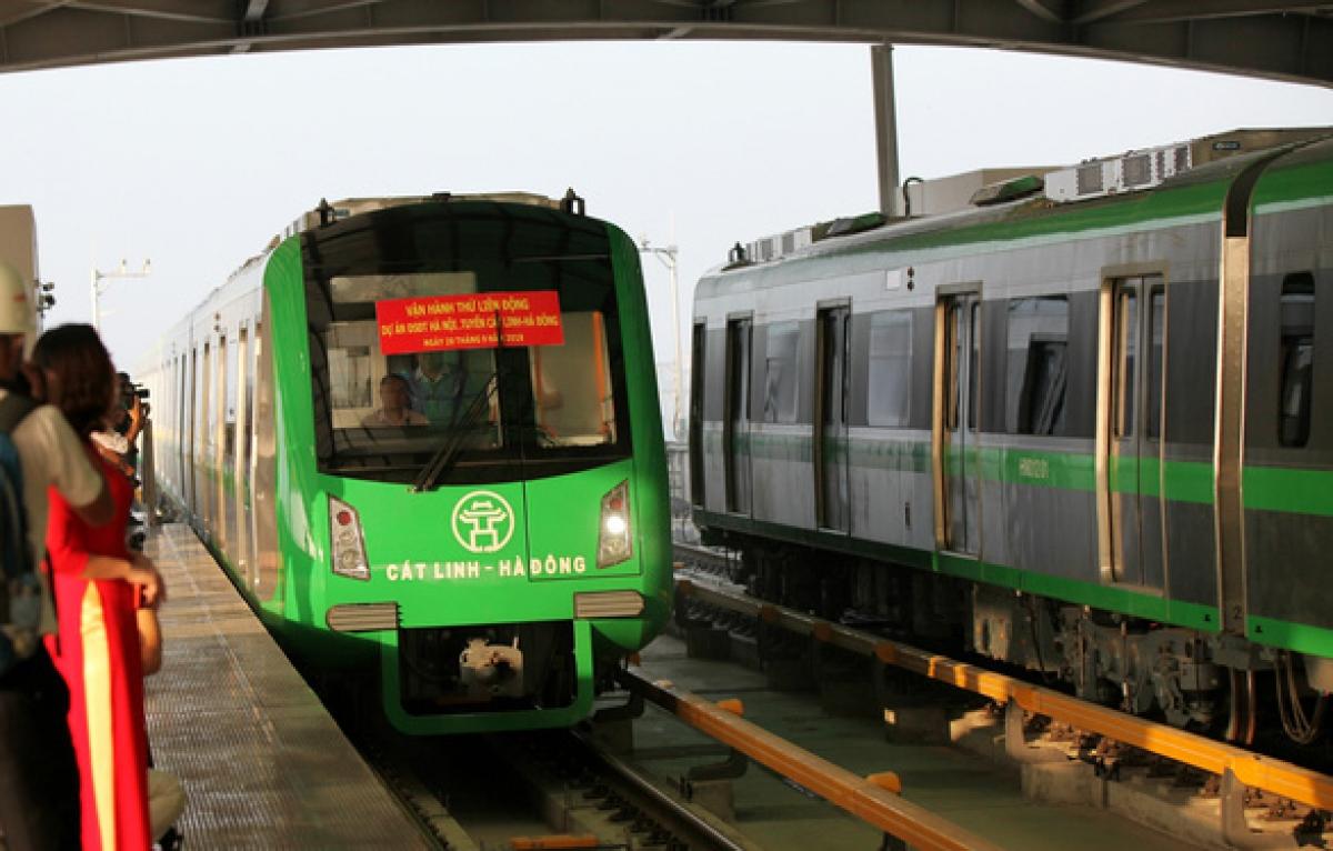 Bộ GTVT đặt tiến độ, mục tiêu sẽ đưa vào vận hành, khai thác tuyến đường sắt đô thị Cát Linh - Hà Đôngtrong quý I-2021.