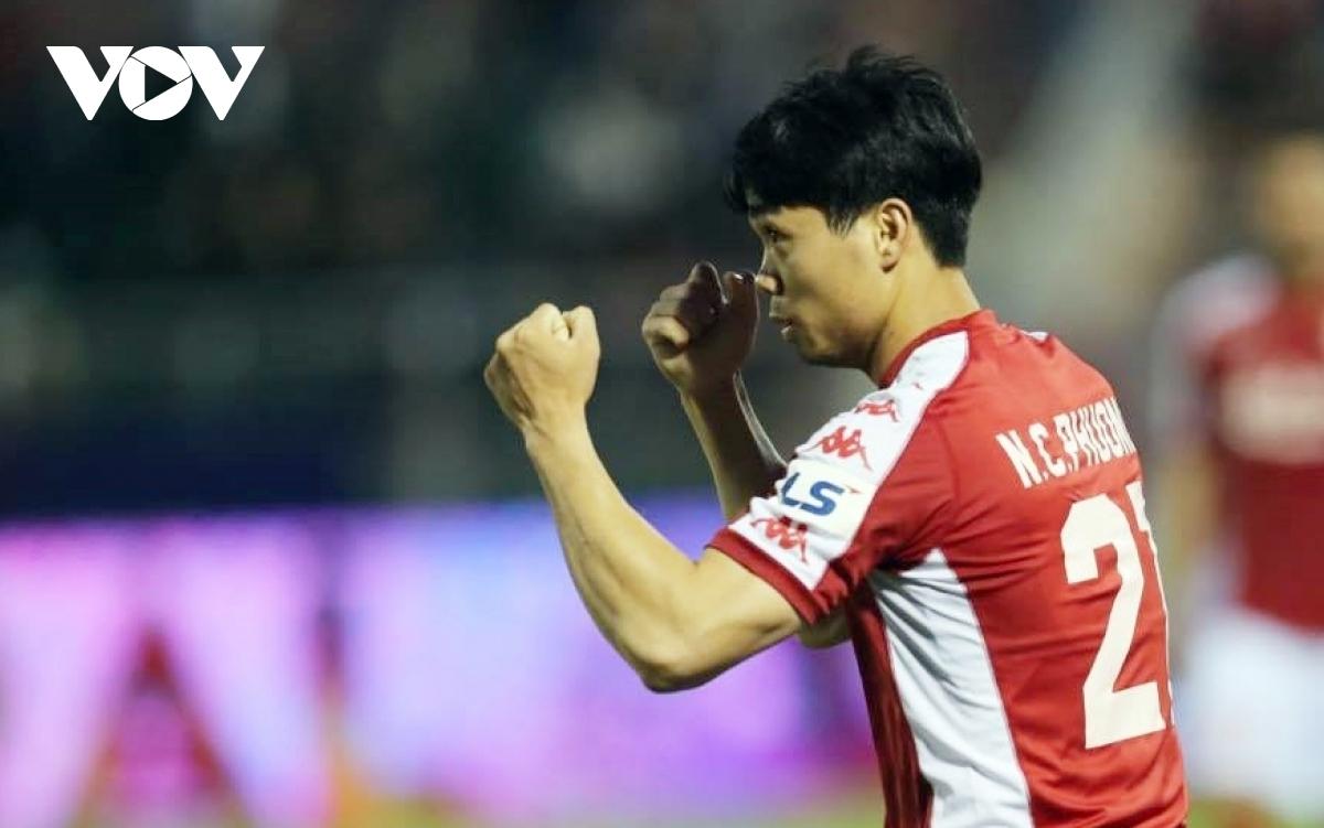Công Phượng ghi 6 bàn thắng ở V-League 2020.