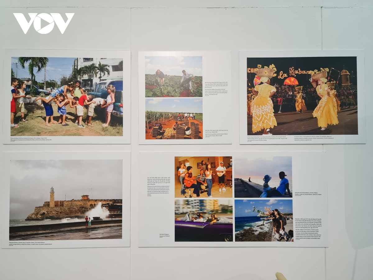 The photo exhibition showcases the close relationship and multi-faceted co-operation between the two sides.