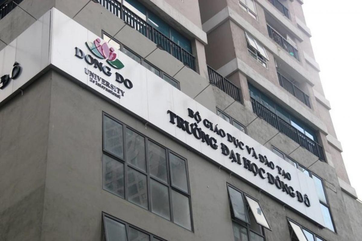 Trường ĐH Đông Đô.