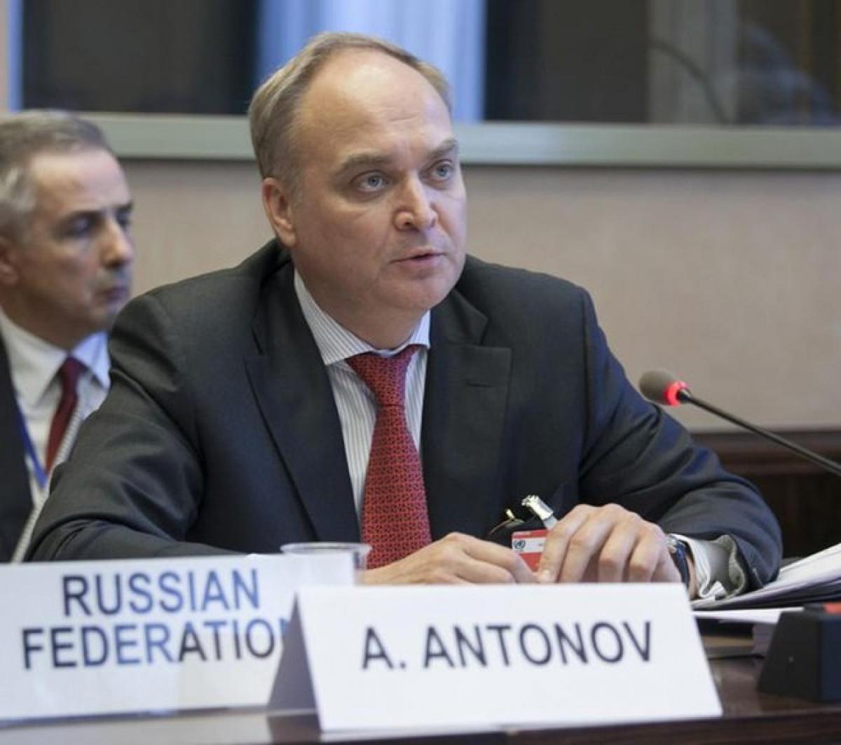 Đại sứ Nga tại Mỹ Anatoly Antonov. (Ảnh: KT)