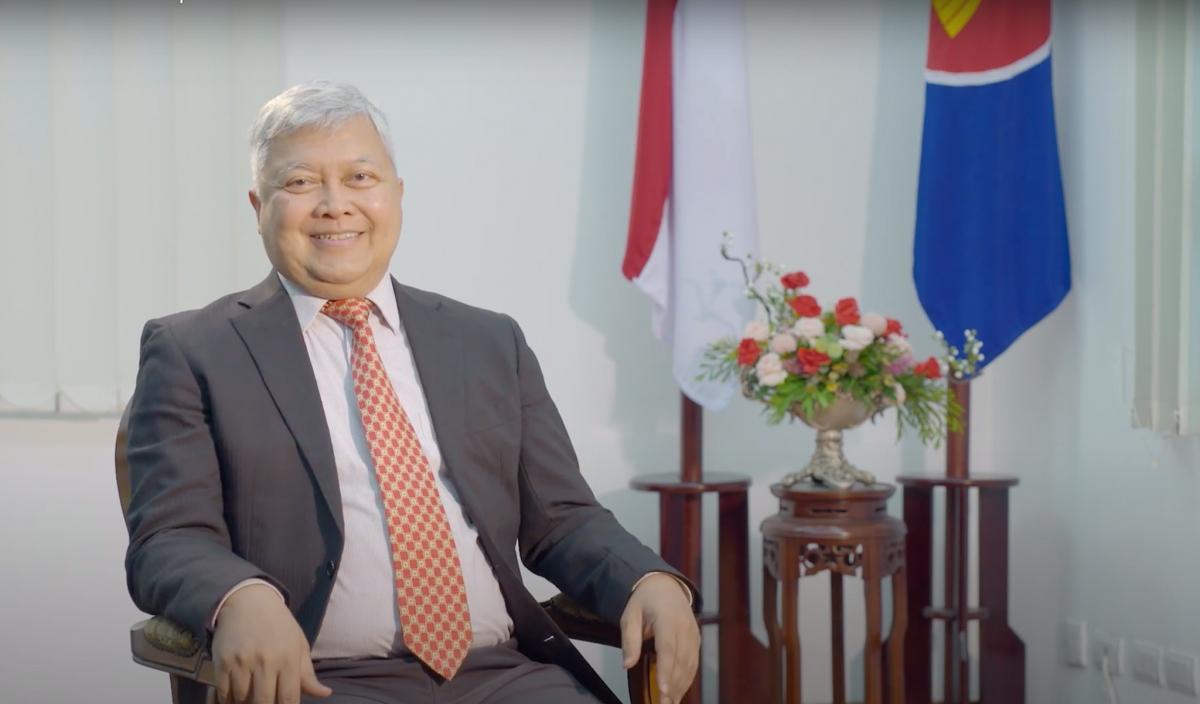Đại sứ Indonesia tại Việt Nam, Ibnu Hadi chúc mừng thành công năm chủ tịch ASEAN Việt Nam 2020