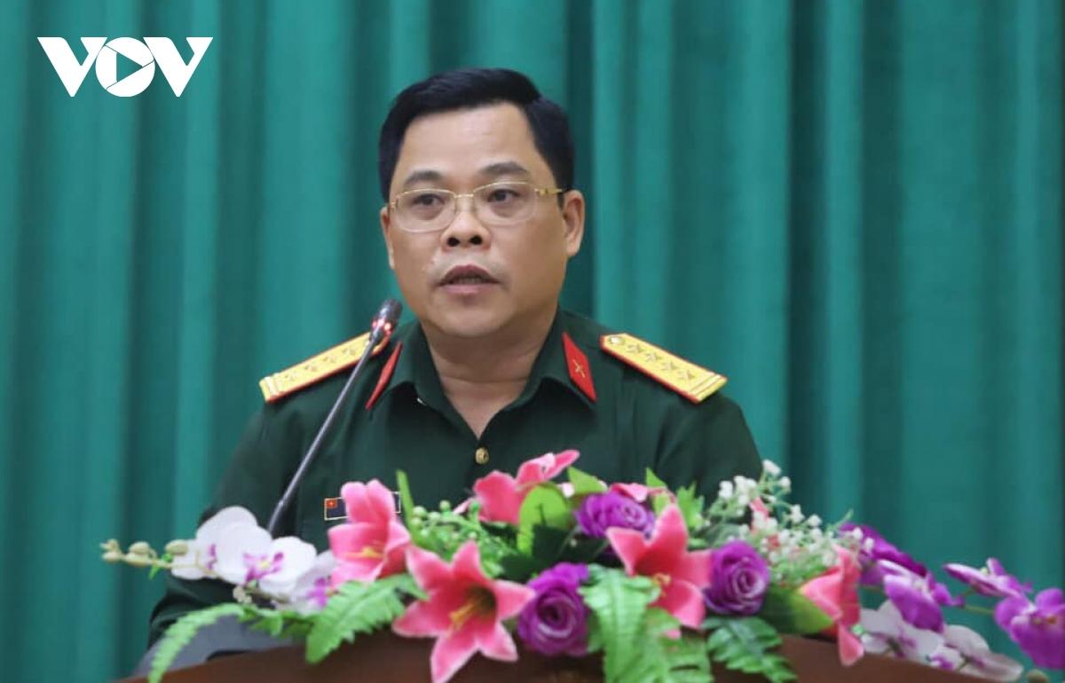 Đại tá, PGS. TS Nguyễn Văn Sáu- Phó Viện trưởng Viện Lịch sử quân sự Việt Nam.