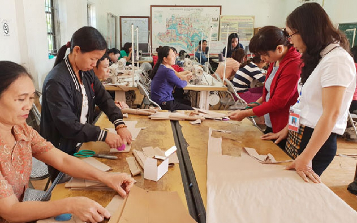 Đào tạo nghề cho lao động nông thôn cần linh hoạt theo thực tiễn. (ảnh: báo Hà Nội mới)