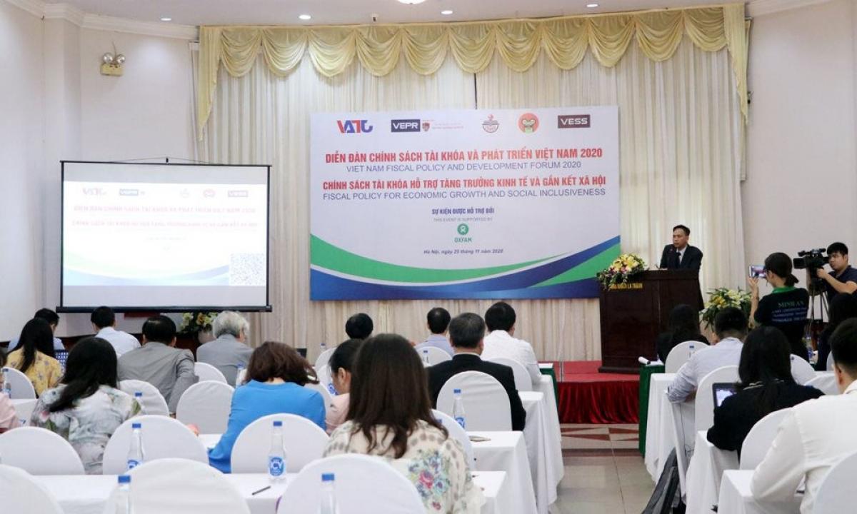 Diễn đàn chính sách tài khóa và phát triển Việt Nam 2020 (Ảnh: KT)
